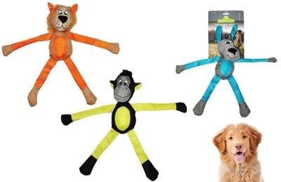 плюшевая игрушка для собаки прорезыватель сафари
