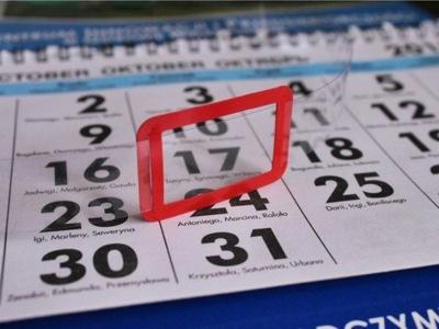 Okienka do kalendarzy ZMONTOWANE wysyłka 24 h