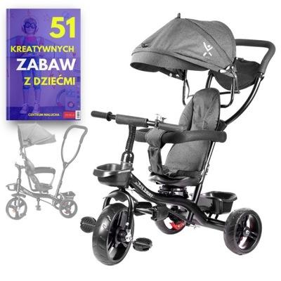Rowerek dla Dzieci 3w1 TRÓJKOŁOWY na Roczek 12m+