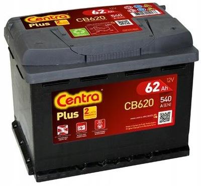 CENTRA PLUS CB620 62Ah 540A