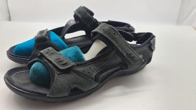ECCO skórzane sandały r.42,wkł 27,5cm S.IDEALNY