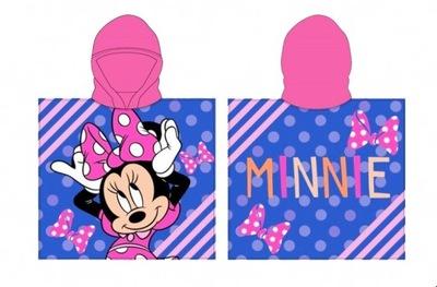 Myszka Minnie ponczo ręcznik z kapturem