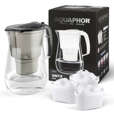 Dzbanek filtrujący Aquaphor Onyx 4,2 + 3, duży