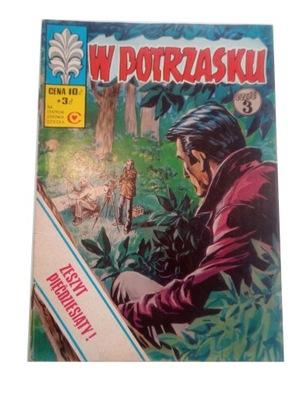 KAPITAN ŻBIK - W POTRZASKU 1977 r. wyd. I