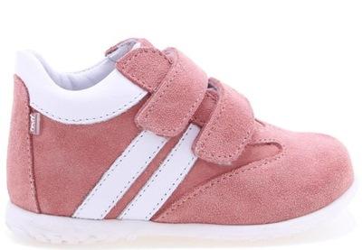 EMEL buty E2045 ROCZKI PÓLBUTY DZIEWCZĘCE 24 RÓŻ