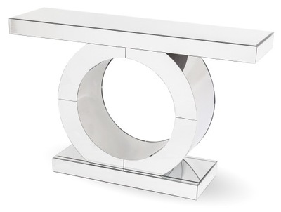 lustrzana konsola stolik glamour szklana 119345