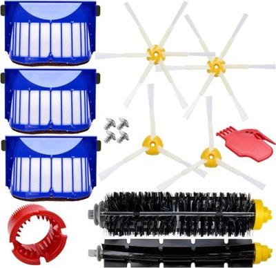 Zestaw szczotki wałki filtry do iRobot Roomba 605