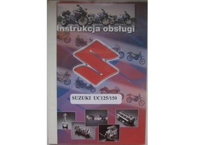 SUZUKI UC 125 EPICURO КНИЖКА ОБСЛУЖИВАНИЯ SUZUKI UC150