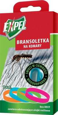 браслет , пояс комаров СВЕТИТСЯ В ТЕМНОТЕ