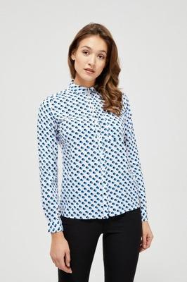 MOODO Koszula klasyczna L-KO-3111 WHITE; XS