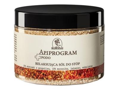 Korana Apiprogram Relaksująca sól do stóp 500 g