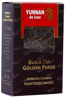 ??? черная листовой Юньнань de Luxe Black Tea
