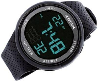 Cyfrowy męski zegarek Xonix z podświetleniem