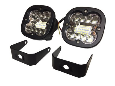 2X60W ФОНАРИ LED (СВЕТОДИОД ) DALEKOSIĘŻNE I ROZPROSZONE 12-24V