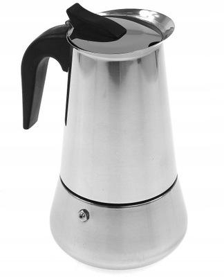 KAWIARKA Zaparzacz Kawy 9 cup 450ml Indukcja GAZ