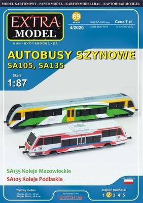 Автобусы Рельсовые SA105 SA135__Extra Model_NOWOŚĆ !
