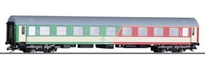 Вагон пассажирский 1 /2 класс . ABdnu, PKP ep. V, масштаб TT