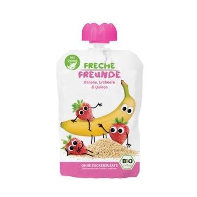 Erdbar Mus wyciskania dla dzieci banan truskawka
