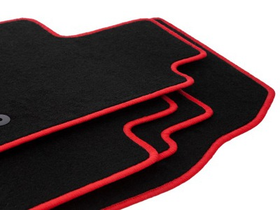 Dywaniki CARLUX-RED Dodge Challenger III coupe 08-