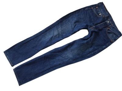LEVIS 501 Spodnie Proste Classic Man Jeans_31/32