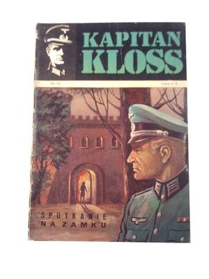 KAPITAN KLOSS 16. SPOTKANIE NA ZAMKU 1973 wyd. 1