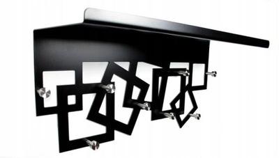 вешалка с полка instagram современный дизайн Черный