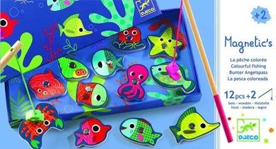 Gra magnetyczna łowienie rybek OCEAN wędki DJECO