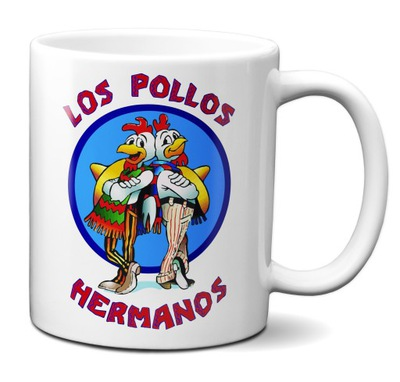 Kubek Breaking Bad Los Pollos Hermanos na prezent