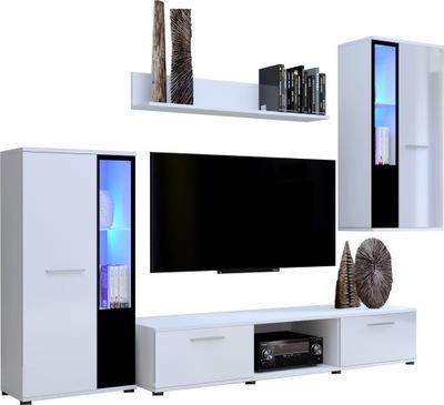 Стенка CUBE Белый блеск мебель