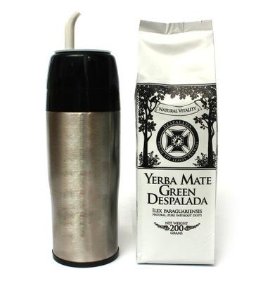 YERBOMOS 3w1 + Yerba Mate Green DESPALADA 200g