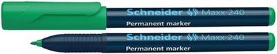 Marker permanentny Maxx 240 1-2mm zielony pisak