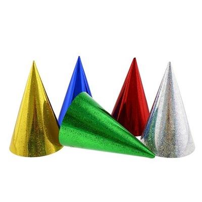 Holografické farebné čiapky 144 Ks