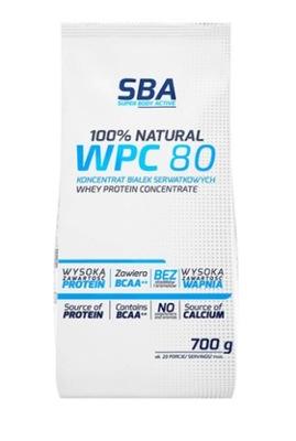 MLEKOVITA Białko SBA WPC 80% Instant 700g Natural