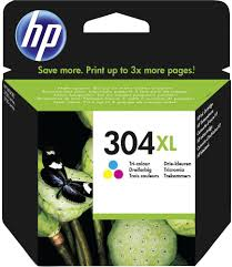 TUSZ HP 304XL Kolor N9K07AE Oryginał FV 23%
