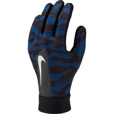 Rękawiczki Nike HyperWarm CZARNO NIEBIESKIE E R.M