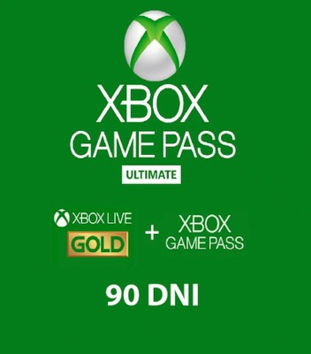 XBOX GAME PASS ULTIMATE LIVE GOLD 90 DNI
