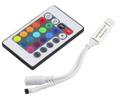 драйвер /Контроллер RGB IR + pilot24 лент LED RGB