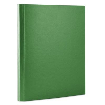 Teczka z rzepem PP A4/4cm 3-skrz zielona