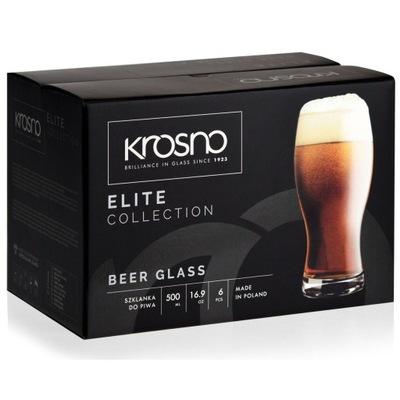 Стаканы пивные кружки ??? пива темного  Elite 500 мл