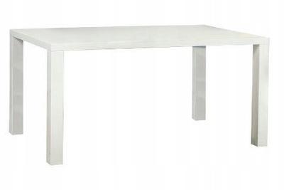 Stół RONALD 120x80 MDF Biały Połysk HALMAR