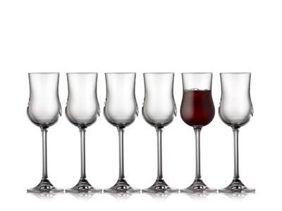 Poháre Lyngby Glass JUVEL Porto Grappa poháre 90 ml