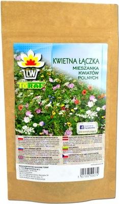 Mieszanka Kwiatów Polnych Kwietna Łączka 100g ŁĄKA