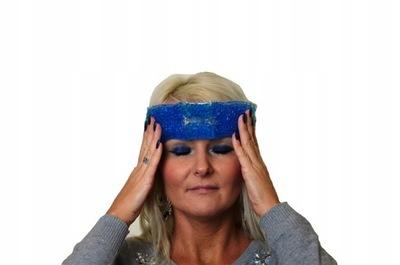 Okład kompres żelowy na ból głowy zatoki migrenę