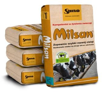 Milsan Молоко для телят на второй Срок выращивания