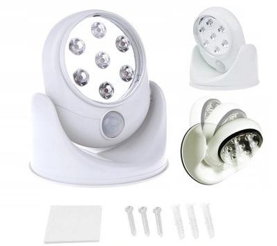 лампа 7 LED Стены ДАТЧИК движения ВСПЫШКА L51
