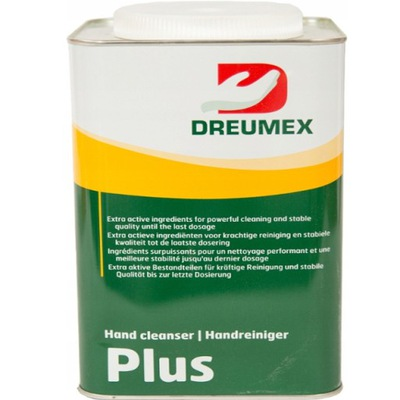 DREUMEX PLUS PASTA ŻEL DO MYCIA RĄK DŁONI BHP 4,5L