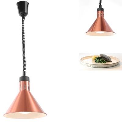 Lampa Do Podgrzewania Potraw Stożkowa Wisząca