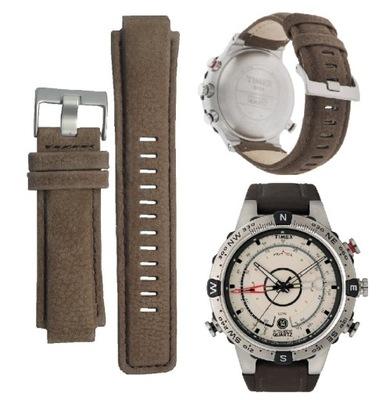 Pasek skórzany Timex kompas T2N721 oryginalny