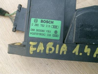 FABIA I 1,4 8V PEDAL POTENCIÓMETRO GAS 6Q2721503C