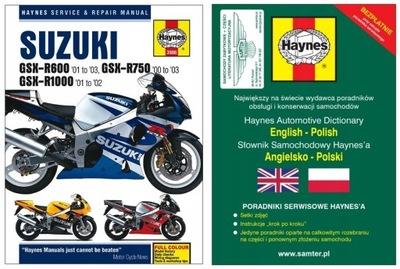 Suzuki GSX-R 600 GSX-R 750 00-03 GSX-R 1000 Haynes